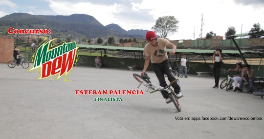 Esteban Palencia Mountain Dew Colombia