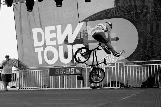 Terry Adams en el Dew Tour 2012