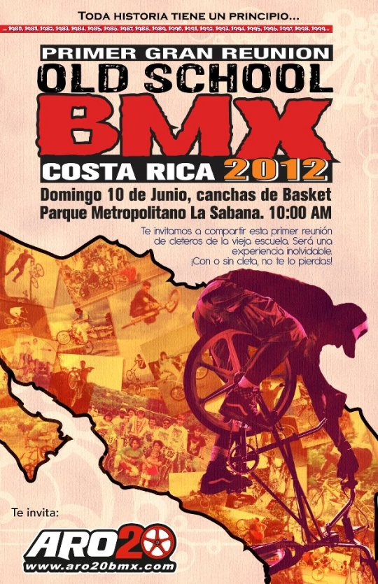 Old School BMX Costa Rica