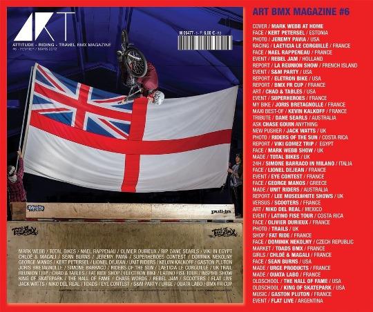 Portada Revista ART BMX MAGAZINE