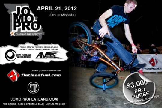 Afiche Promocional JoMoPro 2012