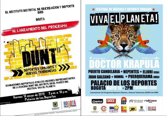 Afiche Festival Viva el Planeta