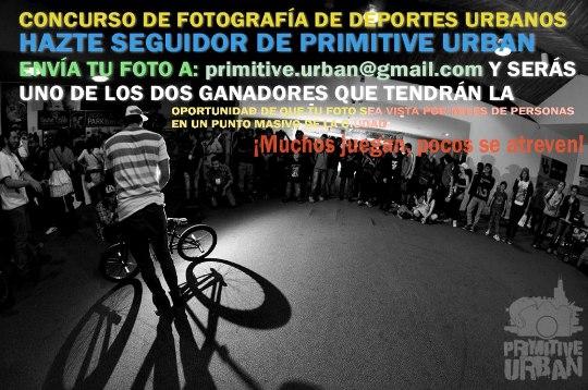 Concurso de Fotografía de Primitive Urban