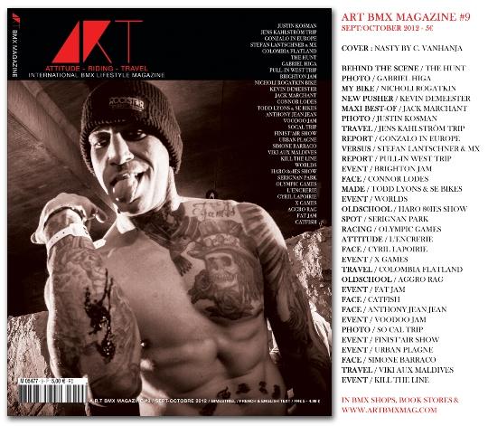 ART BMX MAGAZINE #9