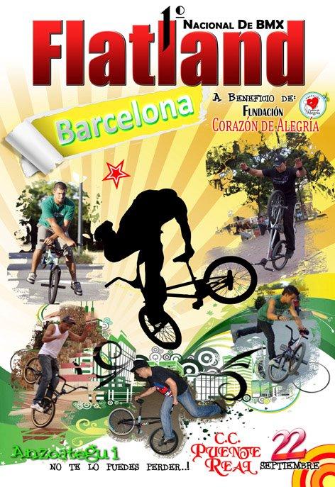 1ER NACIONAL DE BMX FLATLAND BARCELONA