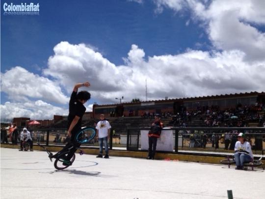 Festival de Verano 2013 BMX Flatland Isaias Beltran
