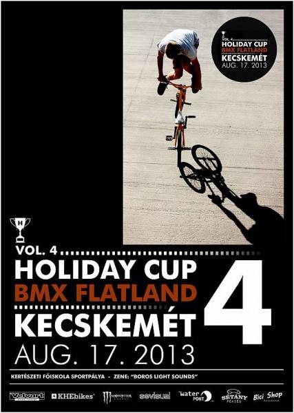 Holiday Cup 4 BMX Flatland Kecskemét