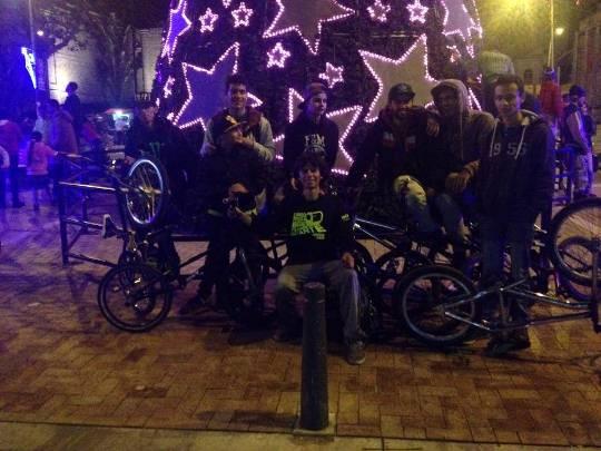 Ciclovía Nocturna Bogotá - 2013