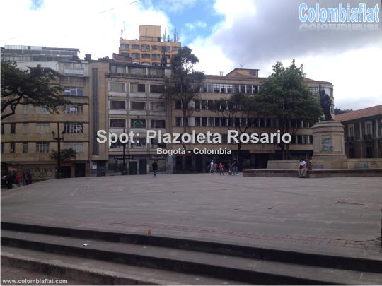Spot BMX Flatland Plazoleta Rosario Bogotá Colombia