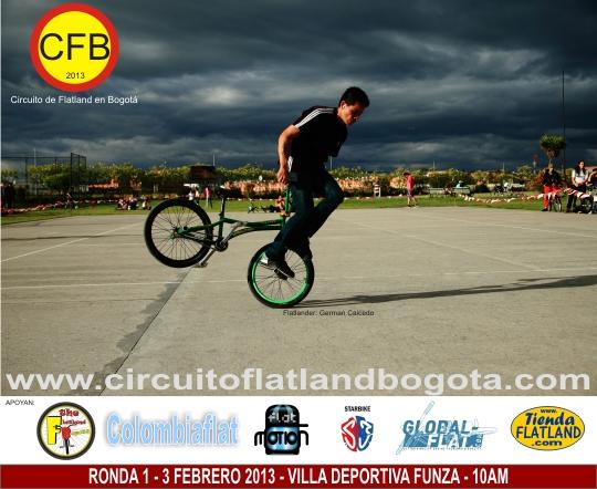 Ronda 1 Circuito de Flatland en Bogotá 2013 Villa Deportiva de Funza