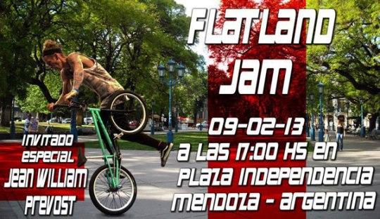 Flatland Jam en Mendoza Argentina