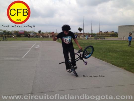 Ronda 1 Circuito de Flatland en Bogotá 2013 Isaias Beltran