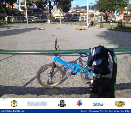 Circuito de Flatland en Bogotá CFB Ronda 2 - 2013