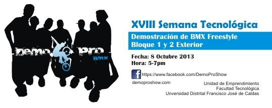 Demo PRO Show Universidad Distrital Francisco José de Caldas