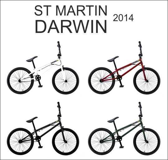 Bicicletas St Martin Darwin 2014