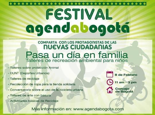 Festival Agenda Bogotá 2014