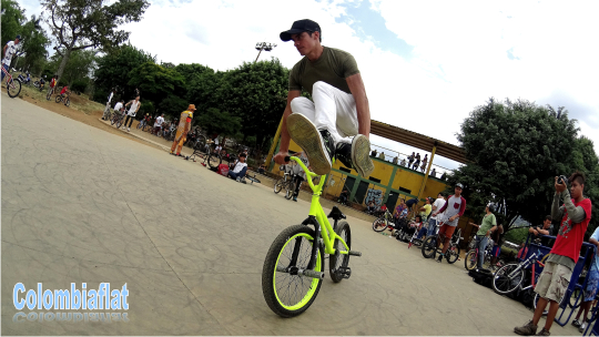Summer Flatland Ride 2014 Alejandro Pineda
