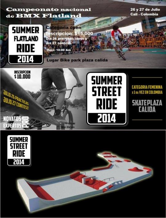 Summer Street Ride 2014