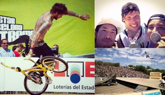 Resultados BMX Flatland Barcelona Extreme 2014