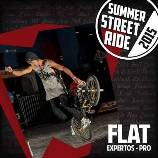 Afiche Summer Street Ride - BMX Flatland en Competencia
