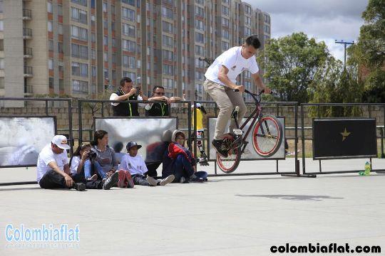 Alejandro Fierro Competencia BMX Flatland Festival Extremo Kennedy