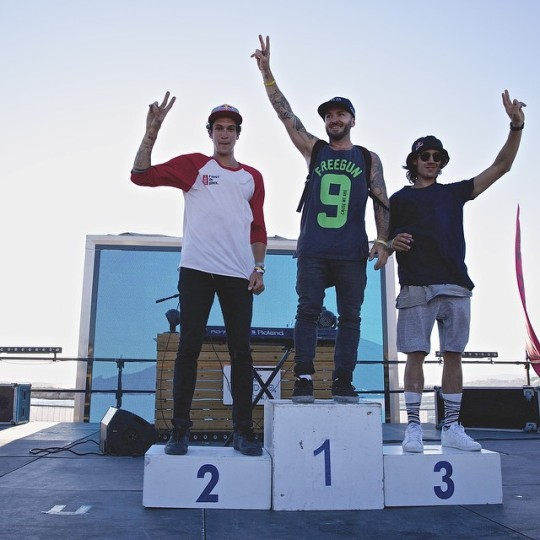 Podium Such BMX Freestyle Cup 2015