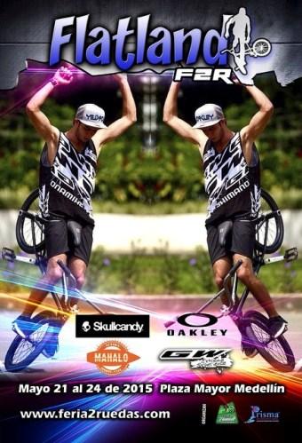 BMX Flatland en la Feria de las dos ruedas Medellín 2015