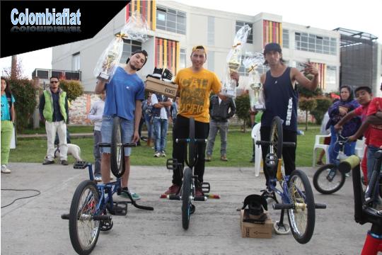 Podium Profesional Fun Bike Day 2016