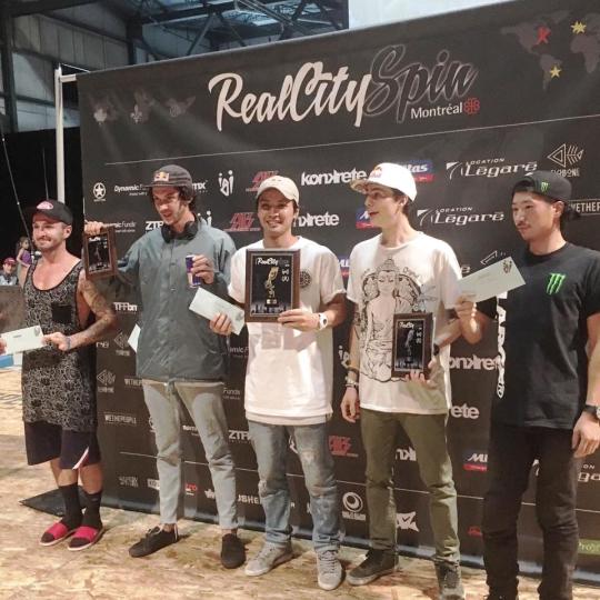 Podium PRO Real City Spin 2016