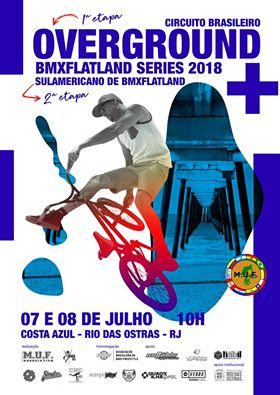 Afiche Promocional Overground Series 2018 Round 1