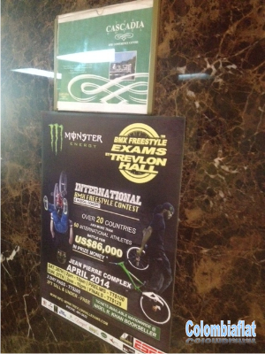 Afiche Monster BMX Freestyle Exams 2014