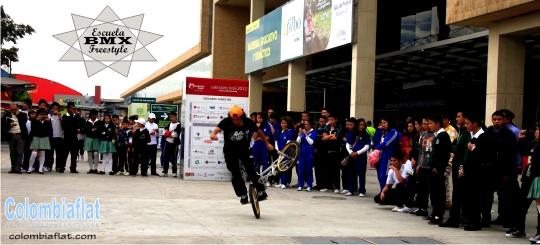Escuela de BMX Freestyle - Esteban Palencia