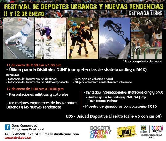 Festival de Deportes Urbanos y Nuevas Tendencias