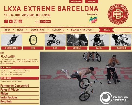 LKXA Barcelona Extreme 2015