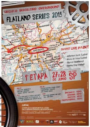 2015 Overground Flatland Series 1ra Etapa