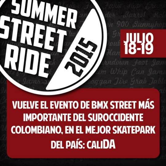 Summer Street Ride 2015 BMX Street and Flatland
