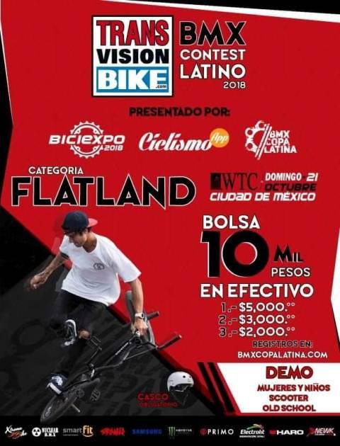 BMX Contest Latino 2018
